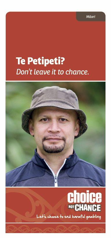 Choice Not Chance brochure - Māori