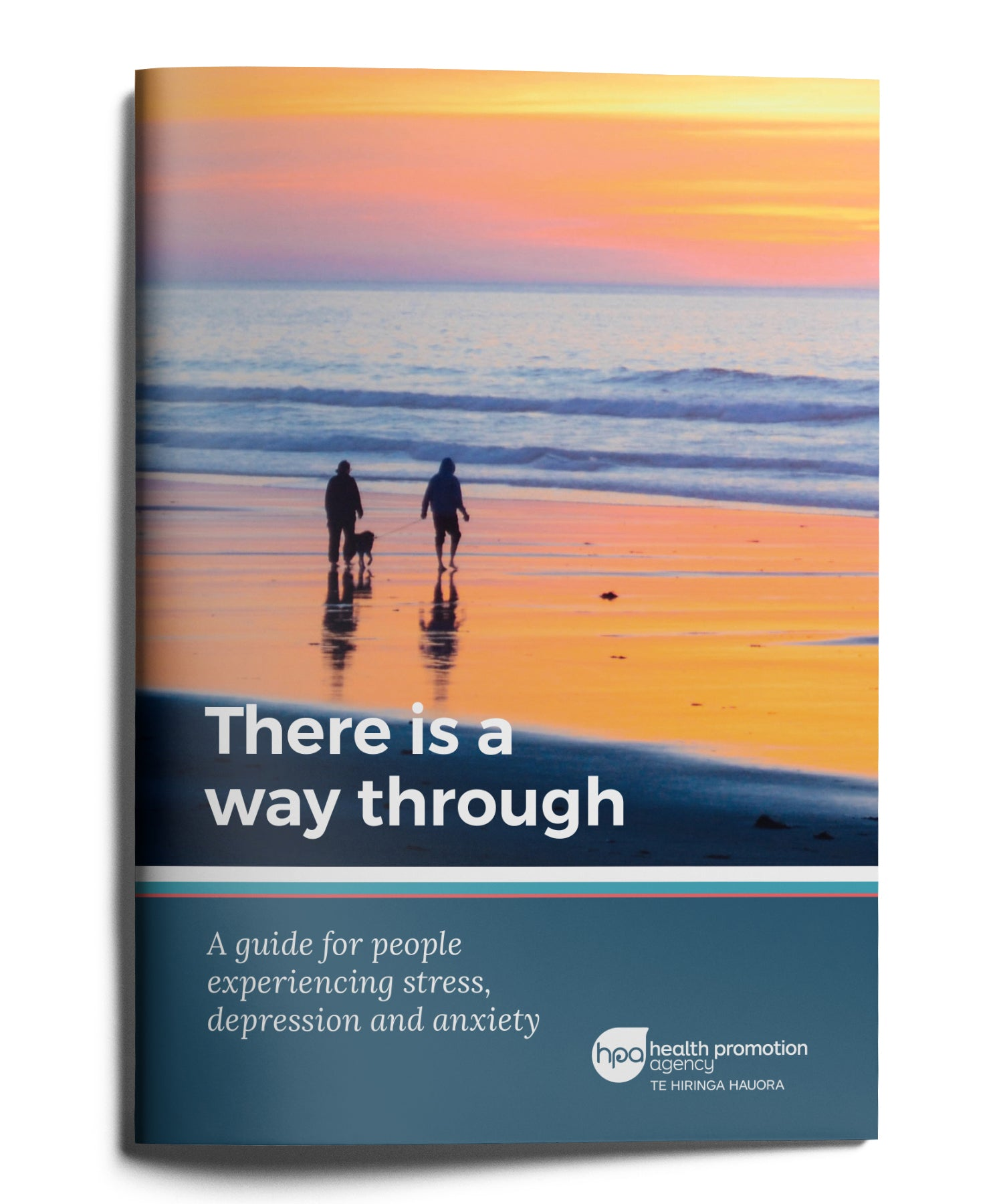 There is a way through. A guide for people experiencing stress, depression and anxiety