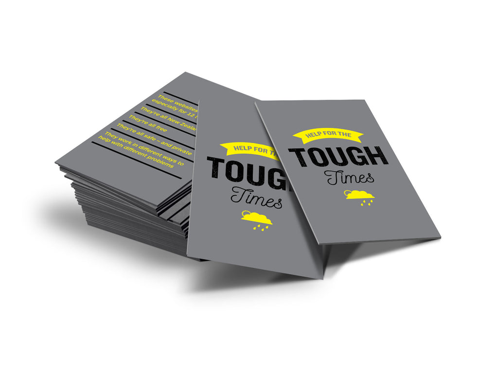 Help for the Tough Times teen pocket guide