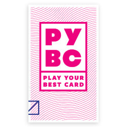 Play Your Best Card - take home pamphlet (bundle of 30)