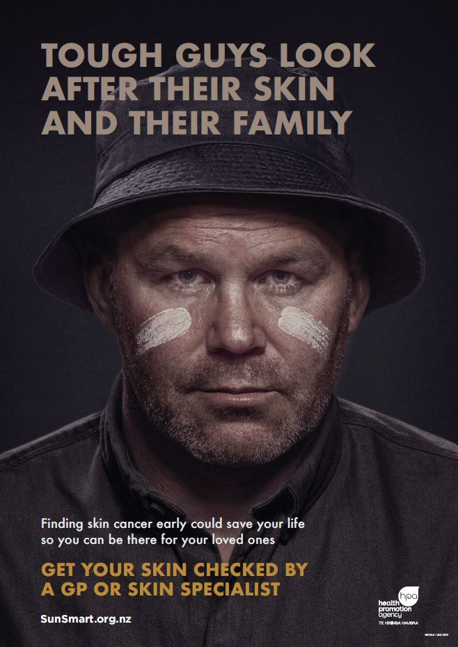 Tough guys look after their skin and their family