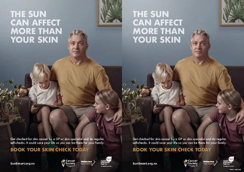 The sun can affect more than your family