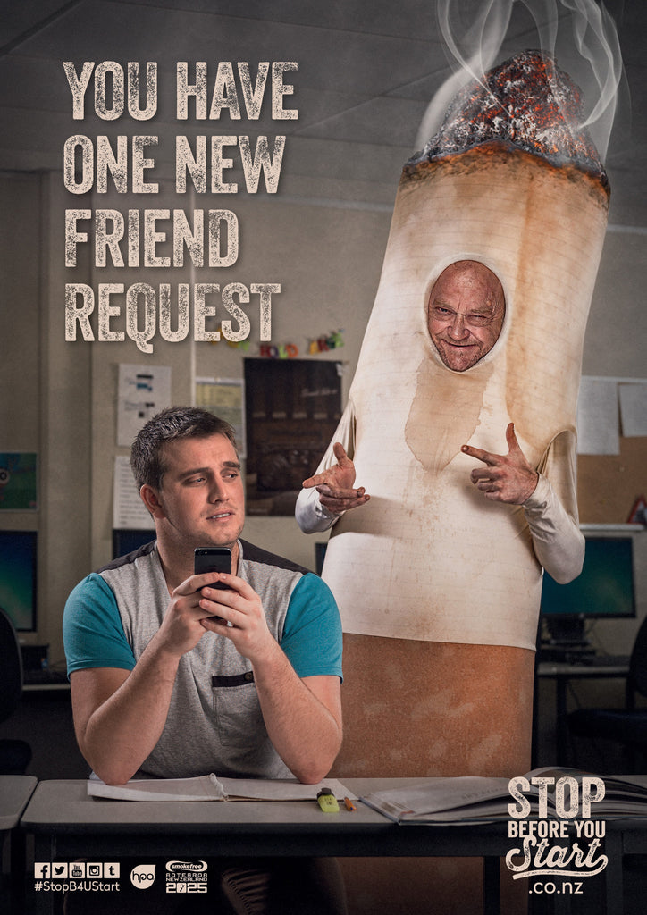 Stop Before You Start - Friend Request