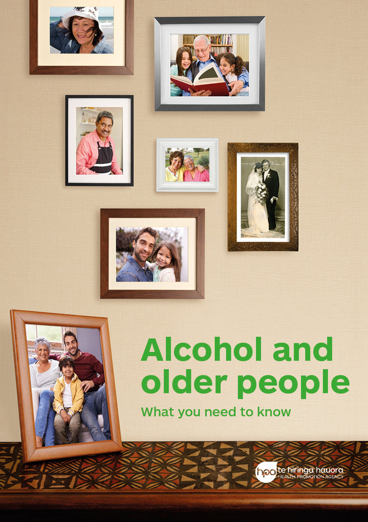 Alcohol and Older People booklet
