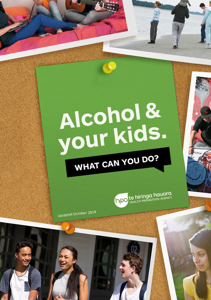 Alcohol and Your Kids booklet