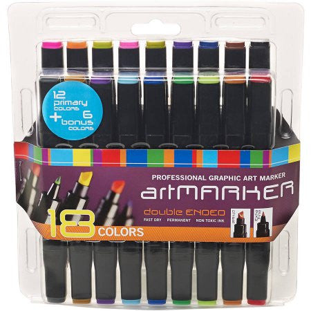 18 Graphic Art Markers