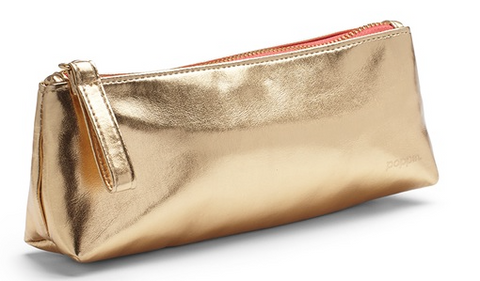 Gold Pencil Pouch