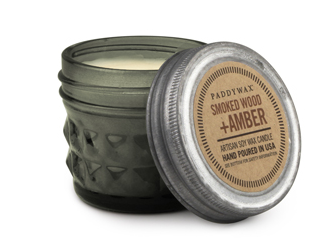 Smoked Wood & Amber 3 oz. Relish Candle