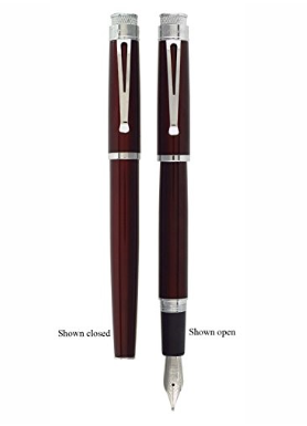 Tornado Fountain Pen - Black Cherry