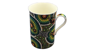 Bunabiri Coffee Mugs - Colin Jones - Colours of the Rainforest