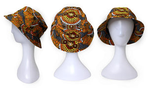 Bunabiri Indigenous Bucket Hats - Colin Jones - Colours of the Land