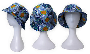 Bunabiri Indigenous Bucket Hats - Colin Jones - Colours of the Reef