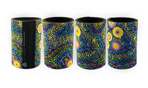 Drink Coolers - Dreaming Collection Seven Sisters Dreaming - By Athena Nangala Granites