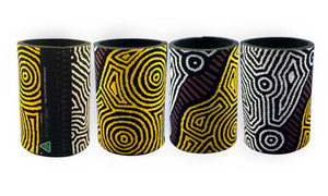 Drink Coolers - Dreaming Collection Fire Country Dreaming - By Theo (Faye) Nangala Hudson