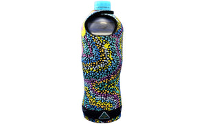 Drink Bottle Coolers (600ml) - Dreaming Collection Seven Sisters Dreaming - By Athena Nangala Granites