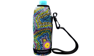 Bottle Coolers (600ml) - Dreaming Collection Seven Sisters Dreaming - By Athena Nangala Granites