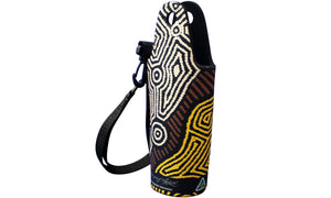 Drink Bottle Coolers (600ml) - Dreaming Collection Fire Country Dreaming - By Theo (Faye) Nangala Hudson