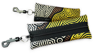 Eye Wear Case - Fire Country Dreaming By - Theo (Faye) Nangala Hudson