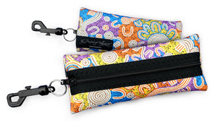 Eye Wear Case - Water Dreaming By - Evelyn Nangala Robertson
