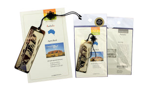 Ayers Rock Bookmark