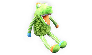 Chucky the Crocodile - Muti Colour - Knit N Plush Toy