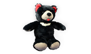 Cuddly Taz the Tassie Devil - Black & Red - Knit N Plush Toy