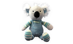 Soft & Cuddly Blue Koala - Knit N Plush Toy