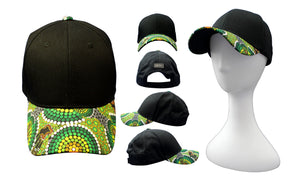 Bunabiri Indigenous Caps - Colin Jones - Colours of the Rainforest