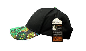 Bunabiri Indigenous Caps - Colin Jones - Hunters & Gatherers Rainforest