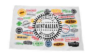 RooWho Tea Towels - Passport