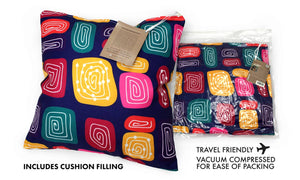 Cushion - Jedess Hudson - Gogo Wundu (Water Forest Country)