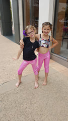Legging for Girls in Pink Beachball print Sparkle like a Diamond in the Sky