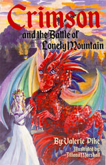Crimson and the Battle of Lonely Mountain children's chapter book