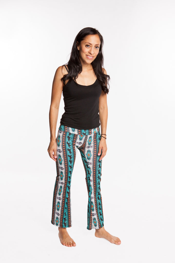 Women's Yoga Pants Horse Dreamcatcher print