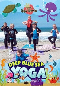 Deep Blue Sea Yoga DVD with the Traveling YogaBerries