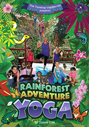 Rainforest Adventure Yoga DVD with the Traveling YogaBerries