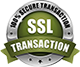 SSL 100% Secure Transaction Logo