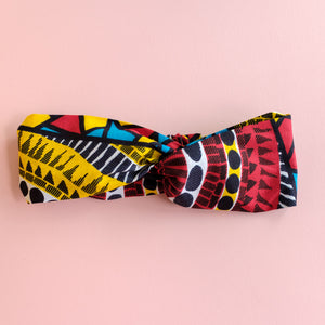 African Wax Print Hairband