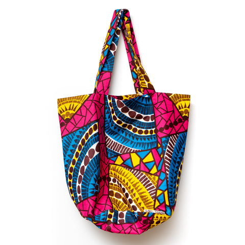 Pool Time Rounded Tote