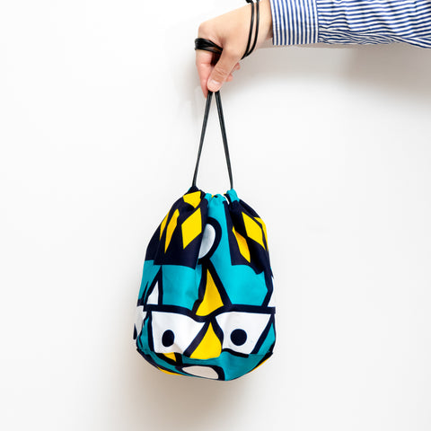 Samakaka Print Bucket Bag