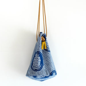 Eastern Cape Shweshwe Bucket Bag