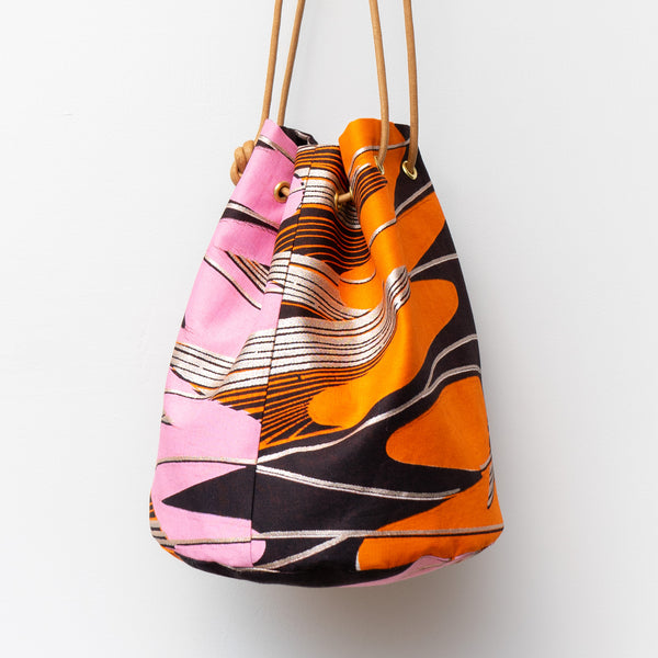 Colour Romance Dutch Wax Bucket Bag