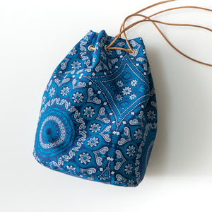 Shweshwe Bucket Bag