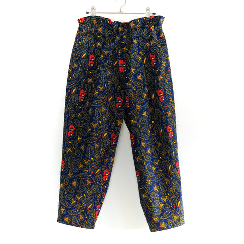 Spring Flower African Wax Print Balloon Pants