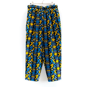 Samakaka African Wax Print Balloon Pants