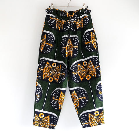 Umbrella African Wax Print Balloon Pants