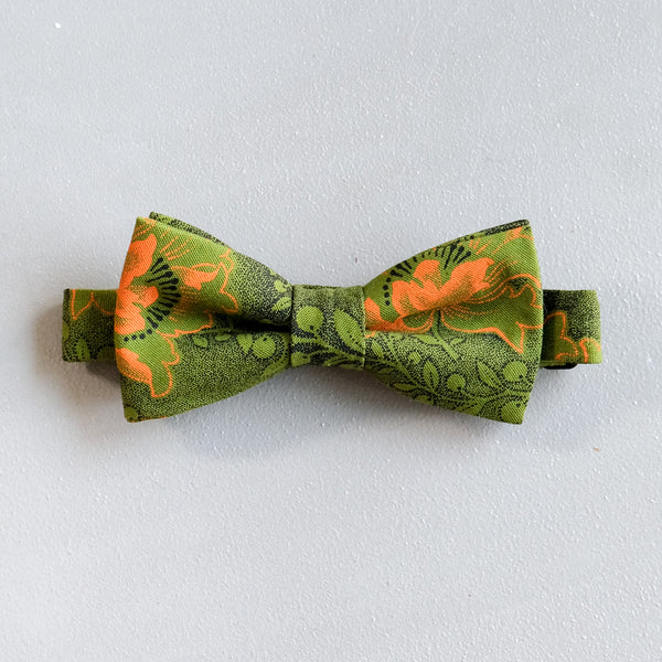 Autumn Afternoon Shweshwe African Bow Tie
