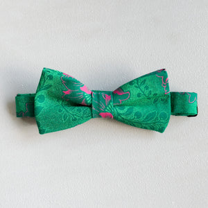 Garden Party Shweshwe African Bow Tie