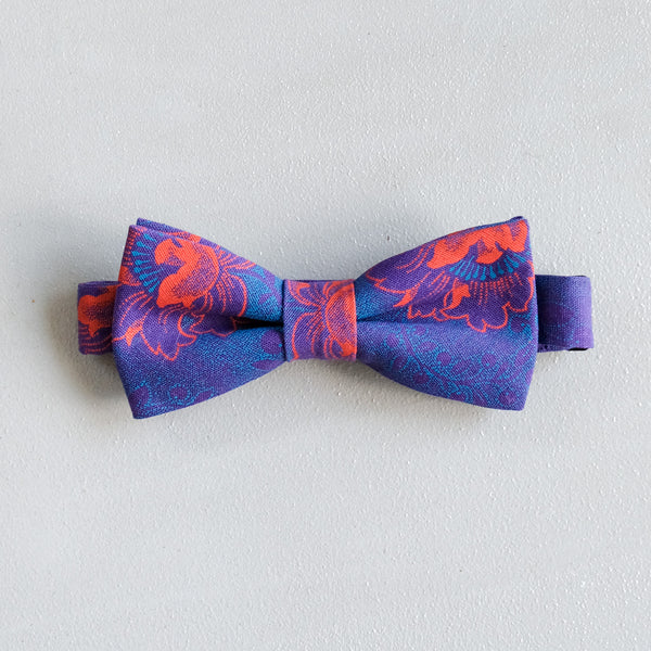 Feather Shweshwe Bow Tie