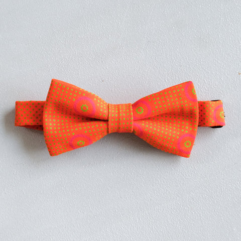 Midsummer Shweshwe African Bow Tie